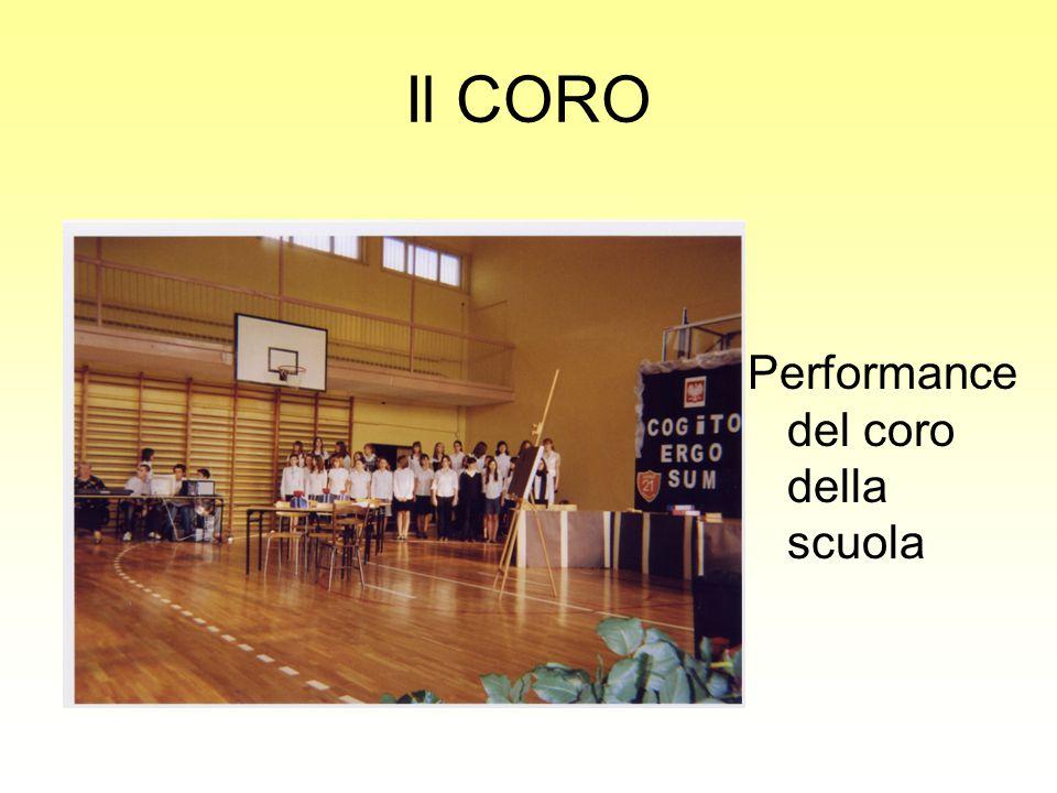 Il CORO Performance del coro della scuola