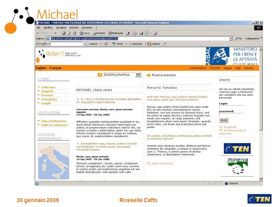 30 gennaio 2006Rossella Caffo
