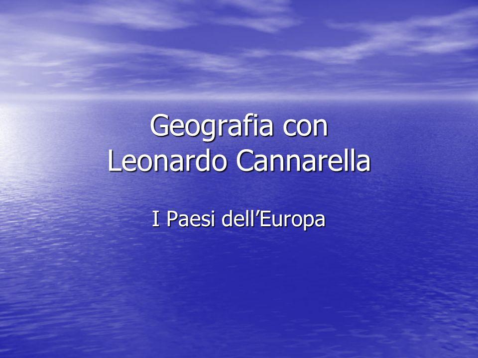 Geografia con Leonardo Cannarella I Paesi dell'Europa