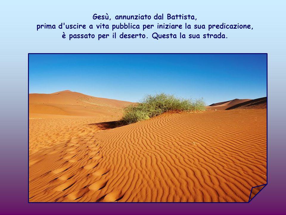 Il Battista invita a preparare la strada del Signore. Ma qual è questa strada