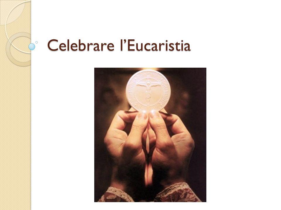La liturgia eucaristica Gesù e i discepoli di Emmaus Episodio di San Paolo in Troade Liturgia odierna Gesù spiega ai due discepoli il senso delle scritture L'apostolo Paolo parla alla comunità, spiegando le scritture LITURGIA DELLA PAROLA Gesù spezza il pane con i discepoli, ed essi lo riconoscono Dopo che Paolo ha parlato, la comunità celebra la frazione del pane LITURGIA EUCARISTICA