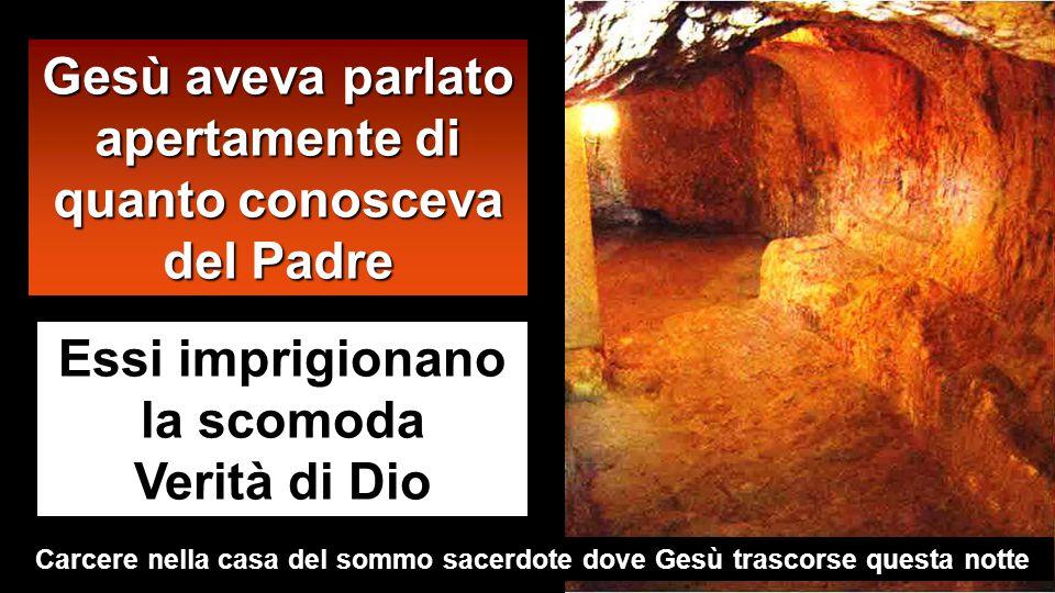 1 2 3 Getsemani Casa di Anna Casa di Caifa