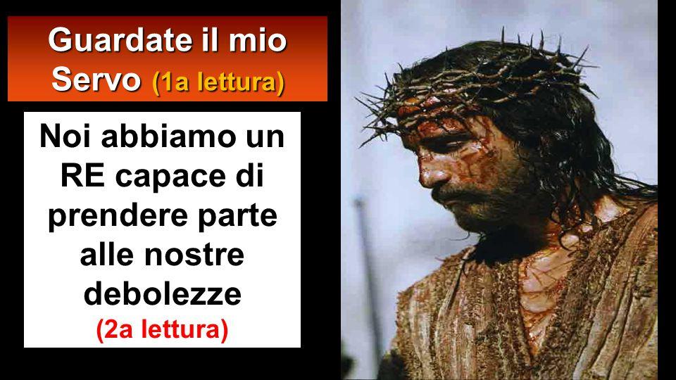 Allora Pilato fece prendere Gesù e lo fece flagellare.