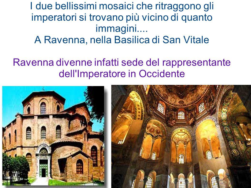 I due bellissimi mosaici che ritraggono gli imperatori si trovano più vicino di quanto immagini.... A Ravenna, nella Basilica di San Vitale Ravenna di