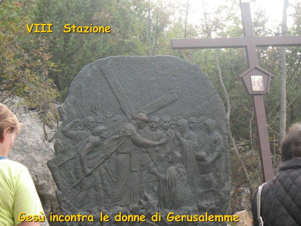 VII Stazione Gesù cade la seconda volta