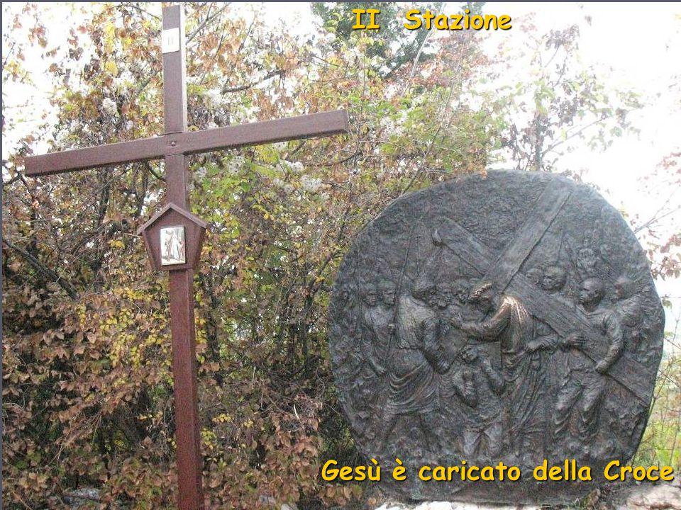 I Stazione Gesù è condannato a morte