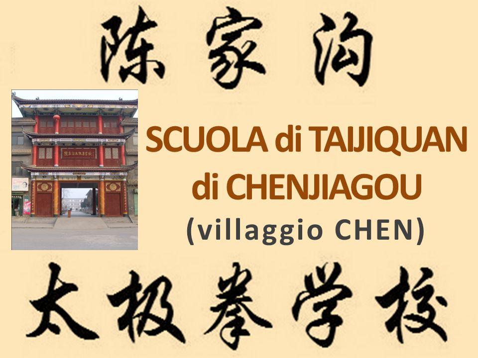 SCUOLA di TAIJIQUAN di CHENJIAGOU (villaggio CHEN)