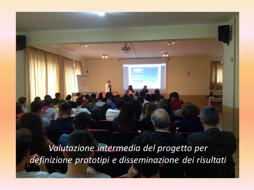 Valutazione intermedia del progetto per definizione prototipi e disseminazione dei risultati