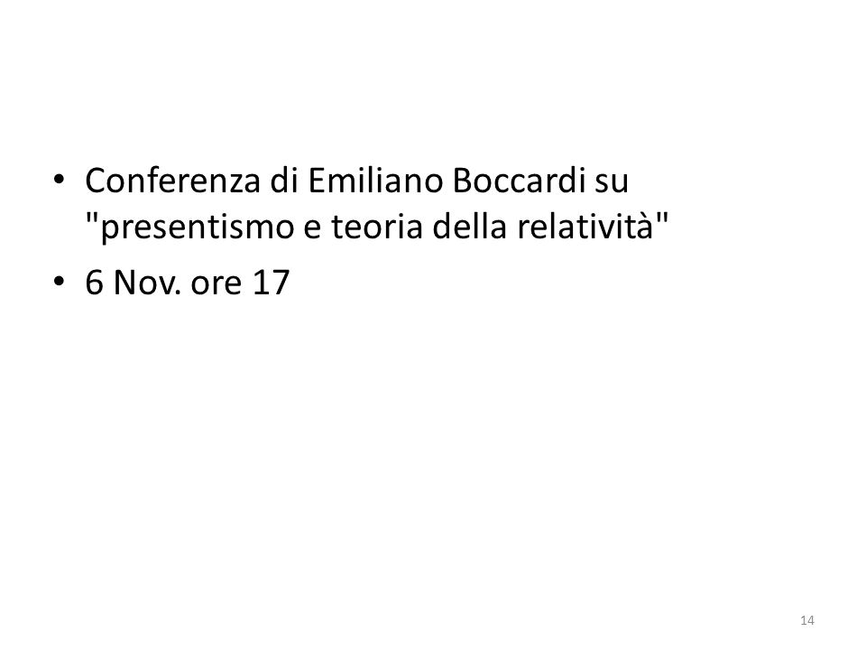 Conferenza di Emiliano Boccardi su