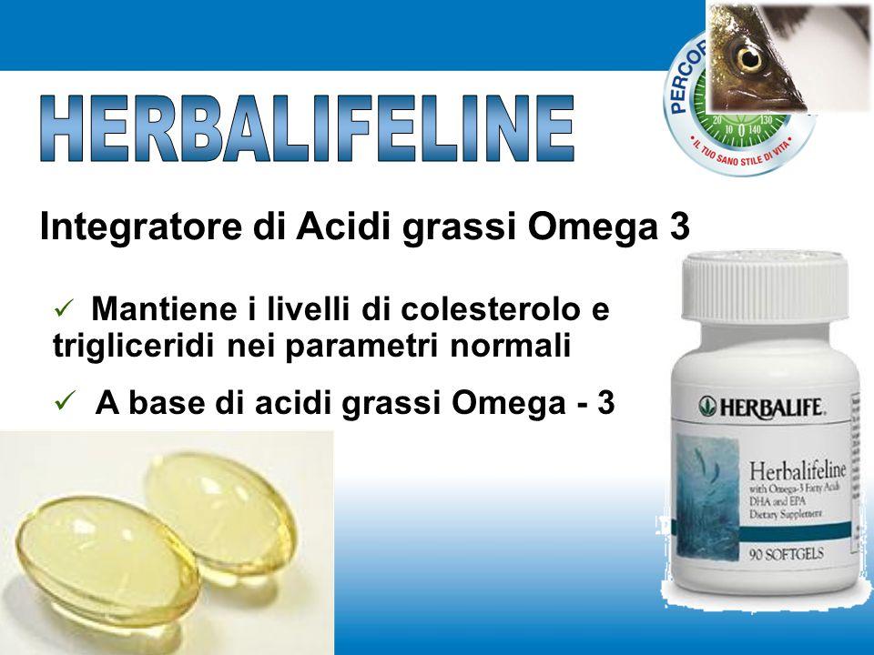 Integratore di Acidi grassi Omega 3 Mantiene i livelli di colesterolo e trigliceridi nei parametri normali A base di acidi grassi Omega - 3