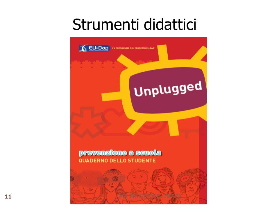 Strumenti didattici ASL FROSINONE - ORSEA 11