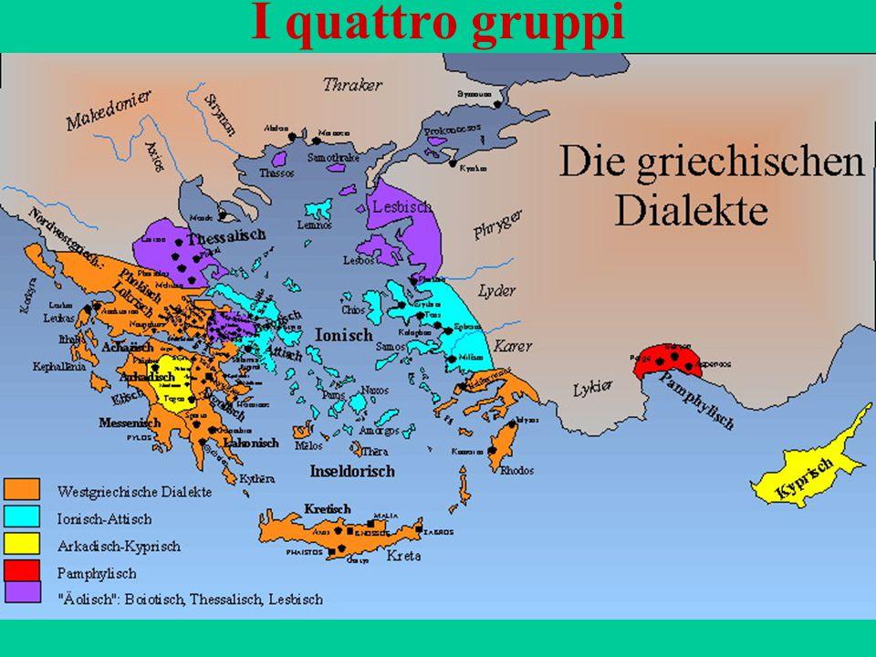 118 I quattro gruppi