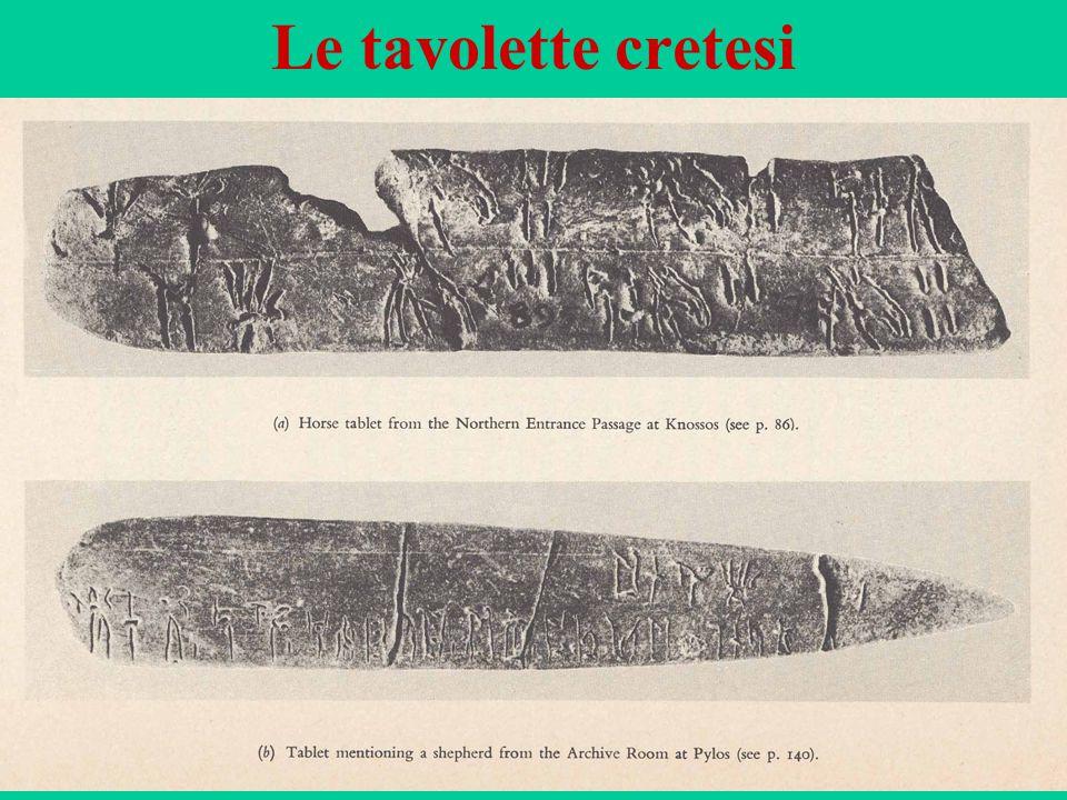 52 Le tavolette cretesi
