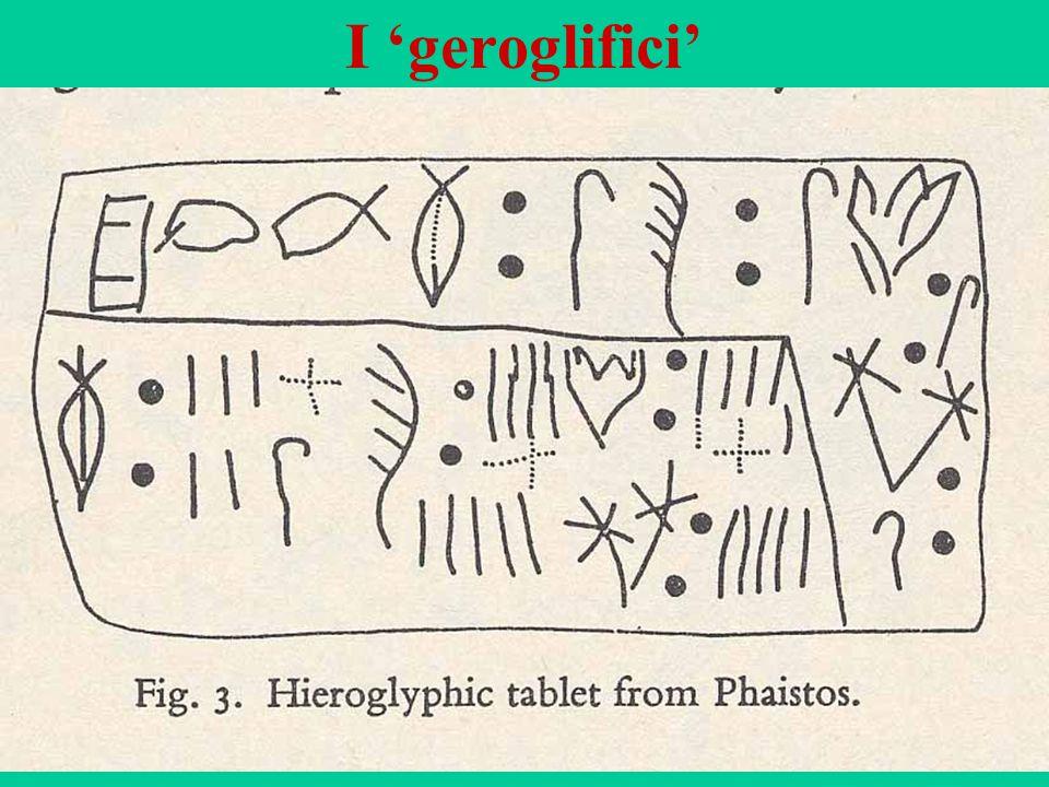 55 I 'geroglifici'
