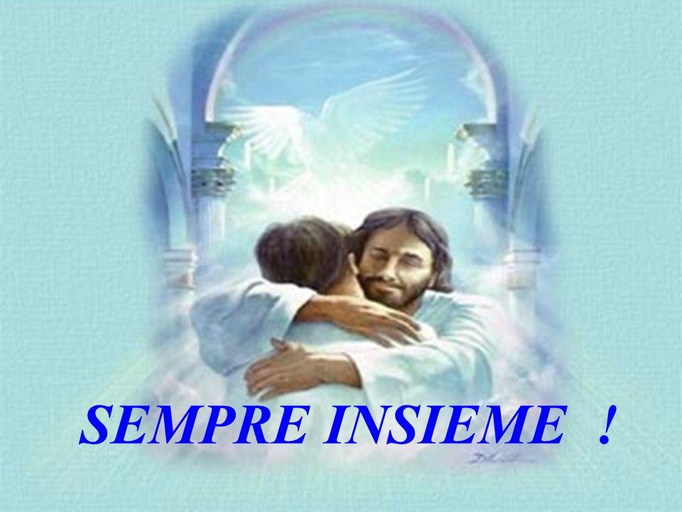 Poi Gesù disse di nuovo: Sono qui per darvi pace e serenità.