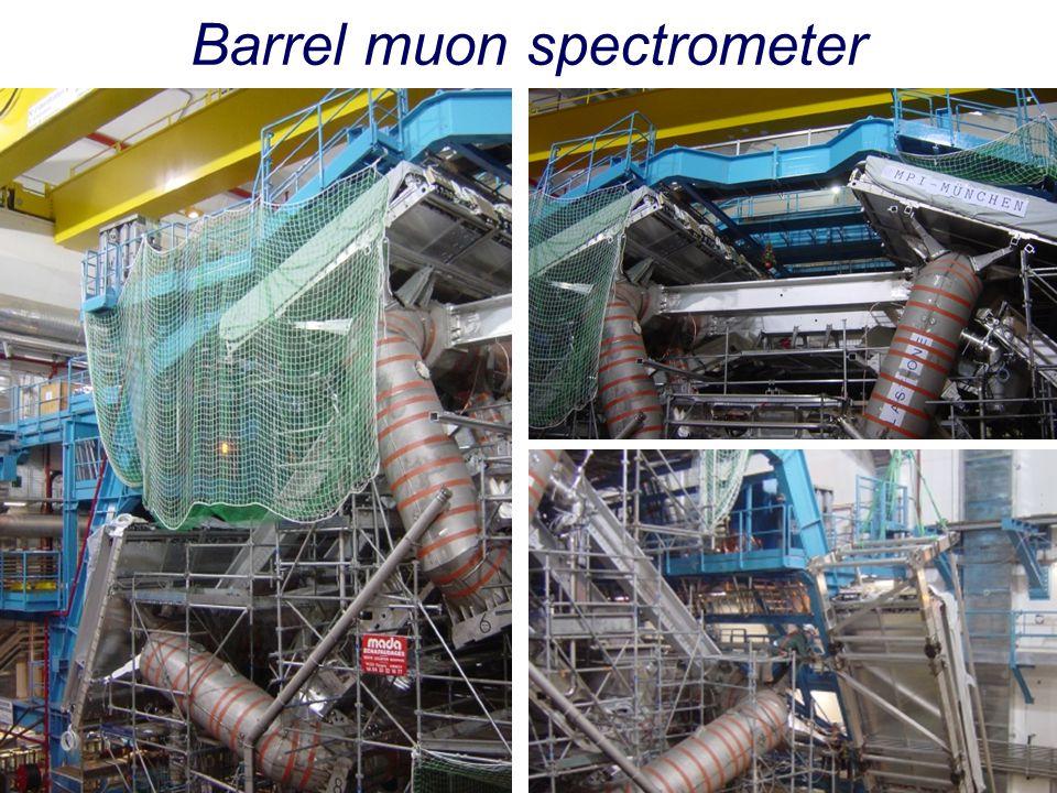 Barrel muon spectrometer