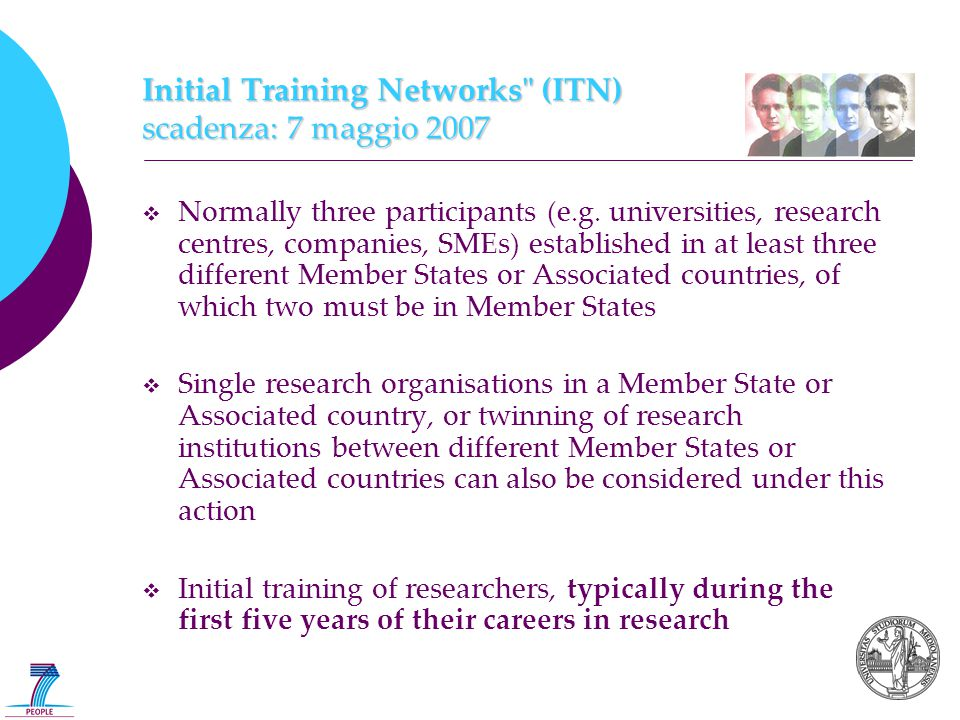 Initial Training Networks