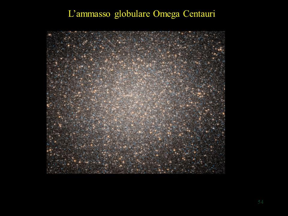 54 L'ammasso globulare Omega Centauri