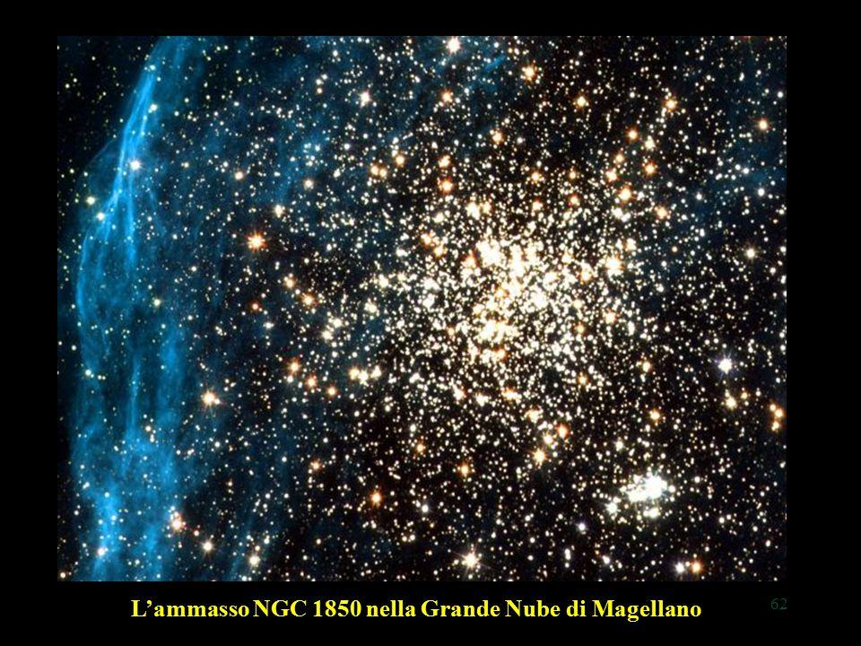 62 L'ammasso NGC 1850 nella Grande Nube di Magellano