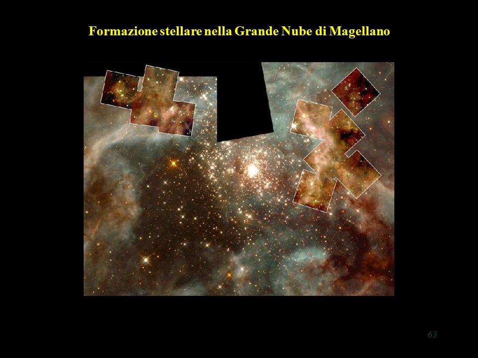 63 Formazione stellare nella Grande Nube di Magellano