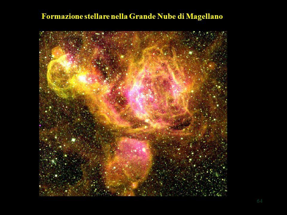 64 Formazione stellare nella Grande Nube di Magellano