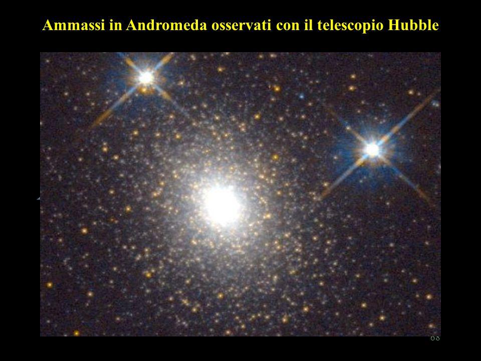 68 Ammassi in Andromeda osservati con il telescopio Hubble
