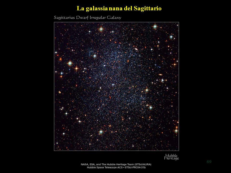 69 La galassia nana del Sagittario