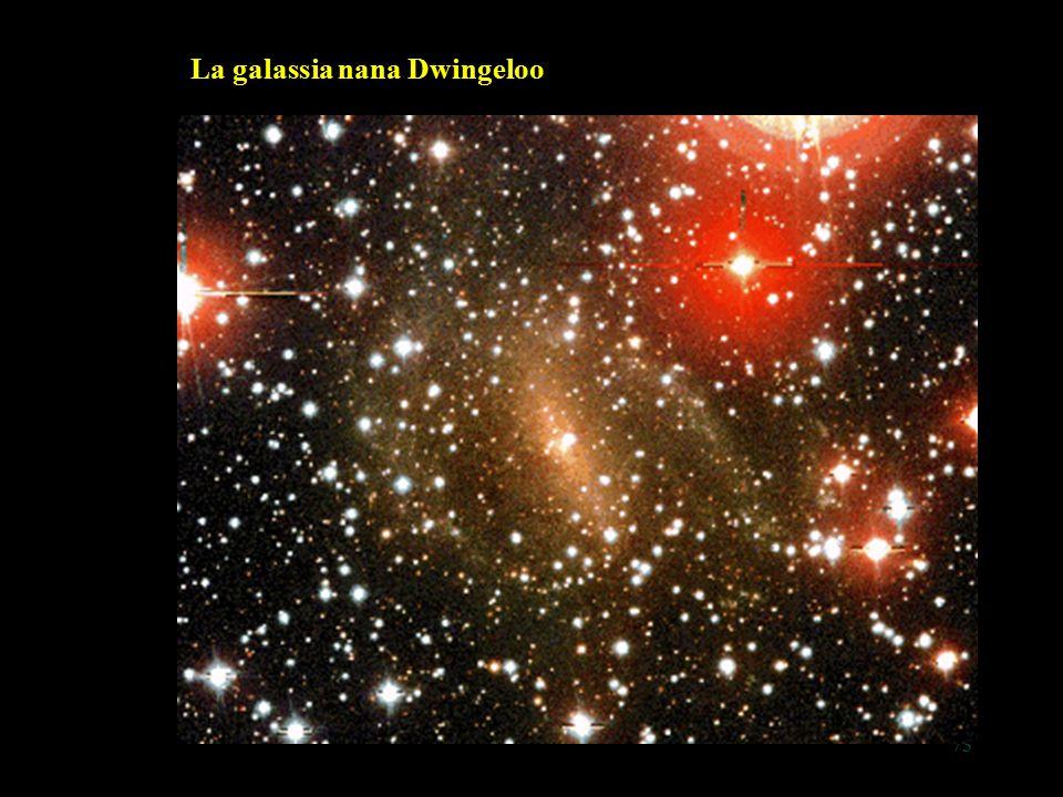 73 La galassia nana Dwingeloo