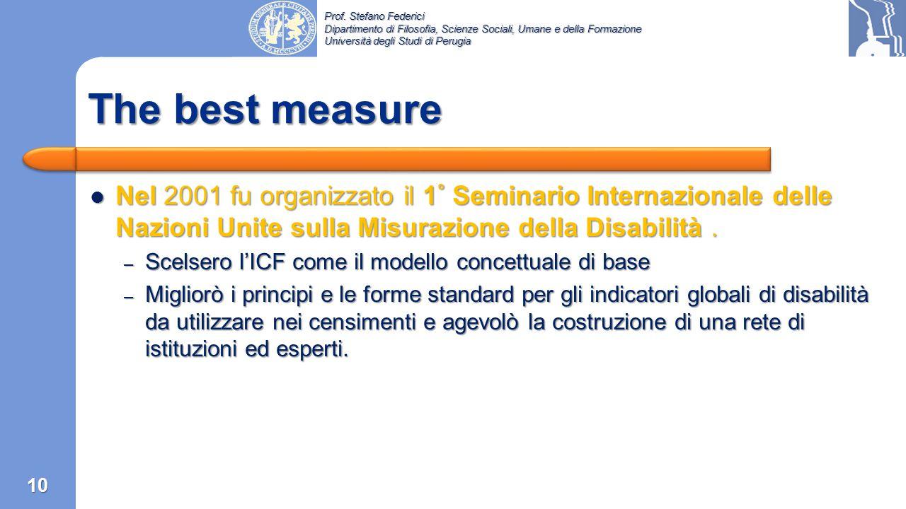 Prof. Stefano Federici Dipartimento di Filosofia, Scienze Sociali, Umane e della Formazione Università degli Studi di Perugia 9