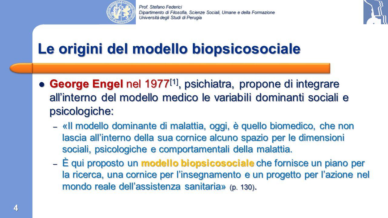 Prof. Stefano Federici Dipartimento di Filosofia, Scienze Sociali, Umane e della Formazione Università degli Studi di Perugia 3