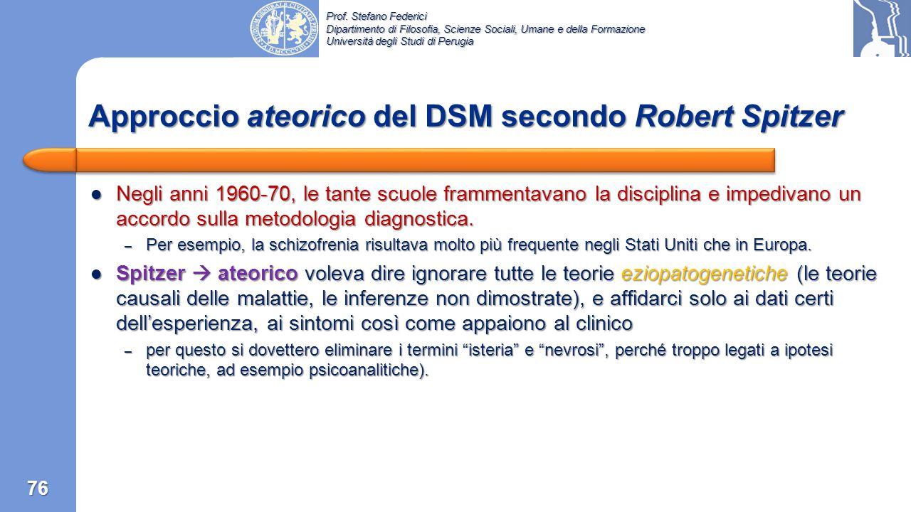 Prof. Stefano Federici Dipartimento di Filosofia, Scienze Sociali, Umane e della Formazione Università degli Studi di Perugia Aumento delle malattie m