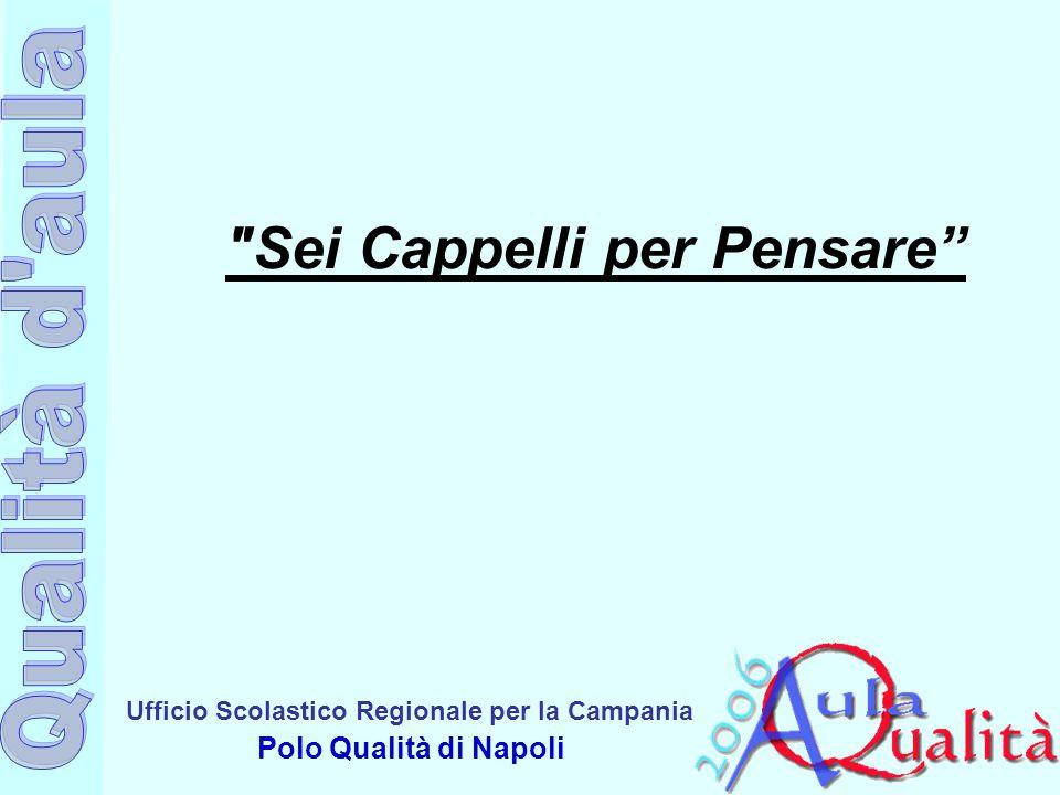 Ufficio Scolastico Regionale per la Campania Polo Qualità di Napoli Sei Cappelli per Pensare