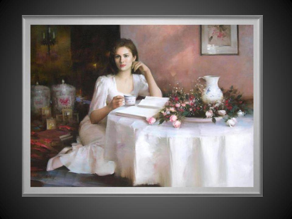 Dipinti di An He (Cina, Guangzhon 1957) pittrice molto conosciuta trasferitasi negli Stati Uniti dal 1988. È specializzata in ritratti che esegue in t
