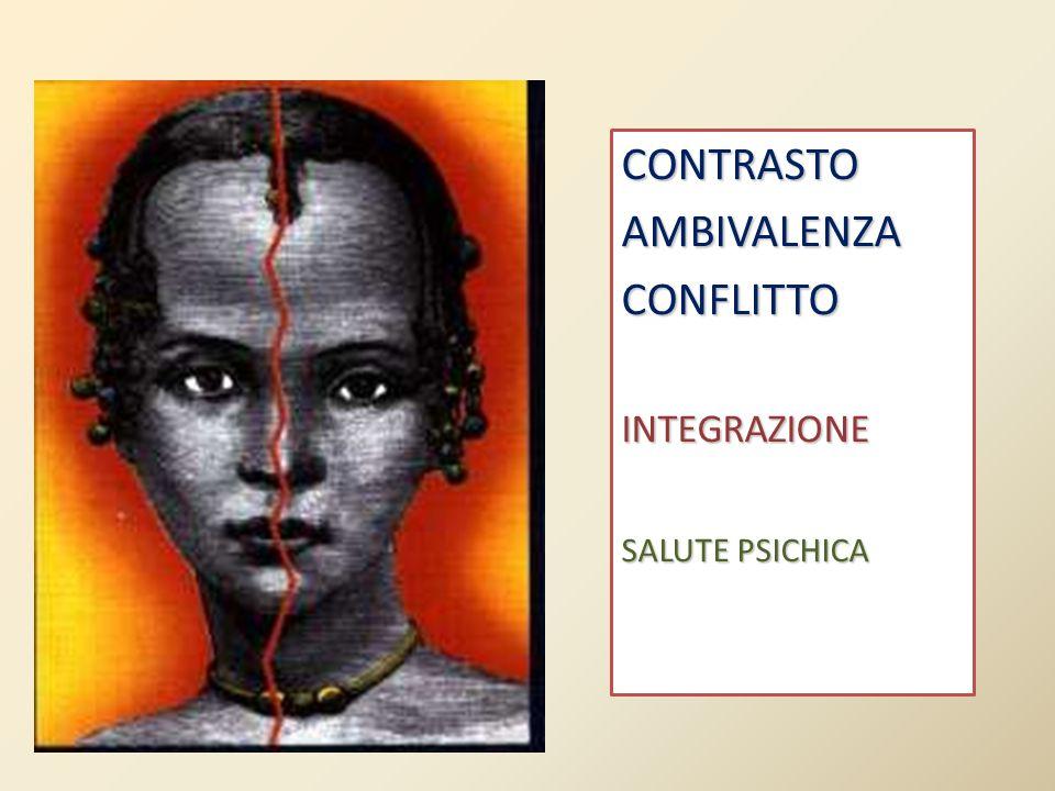CONTRASTOAMBIVALENZACONFLITTOINTEGRAZIONE SALUTE PSICHICA