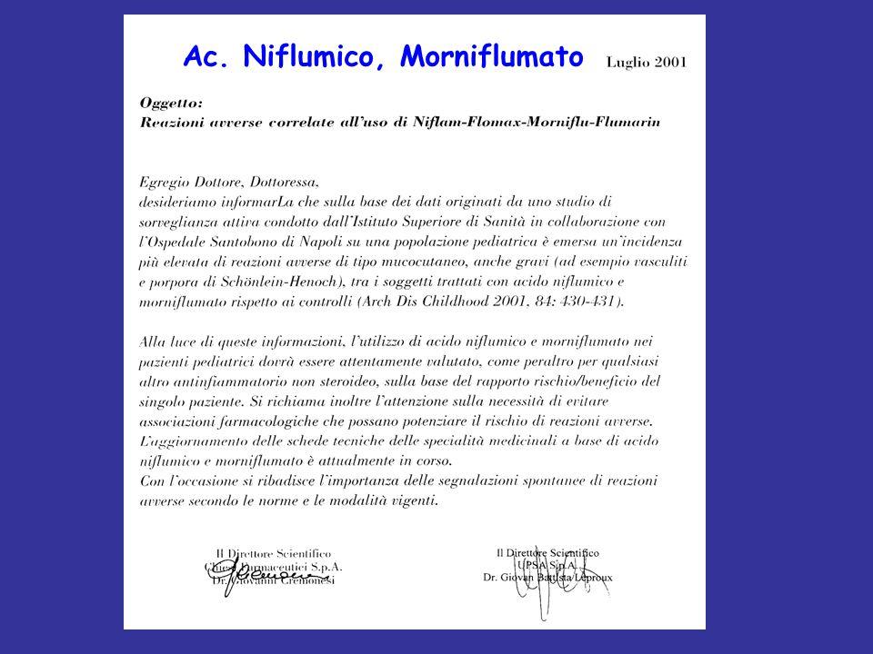 Ac. Niflumico, Morniflumato