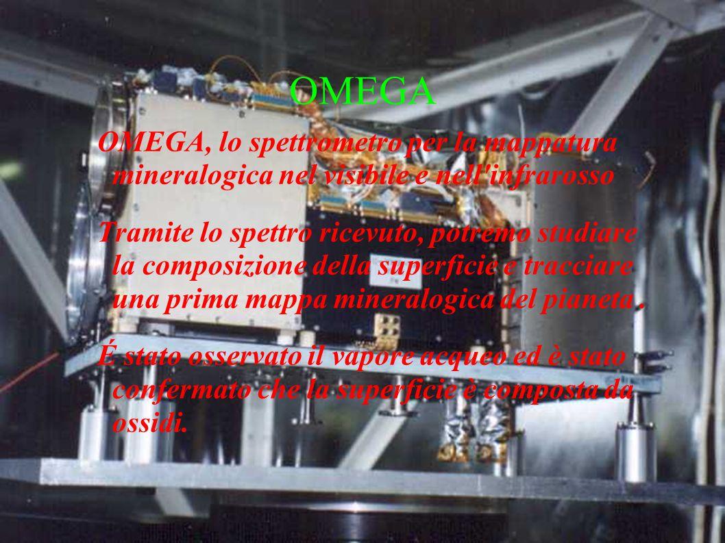 BEAGLE 2 Modulo di atterraggio della sonda madre Doveva servire per ricercare segni di vita passata tramite analisi ambientali, di biologia spaziale e di geochimica.