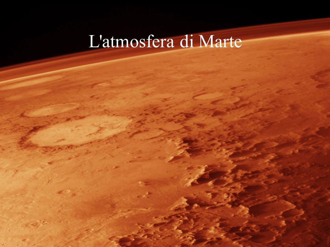 MARSIS È un radar che invia delle onde radio verso la superficie.