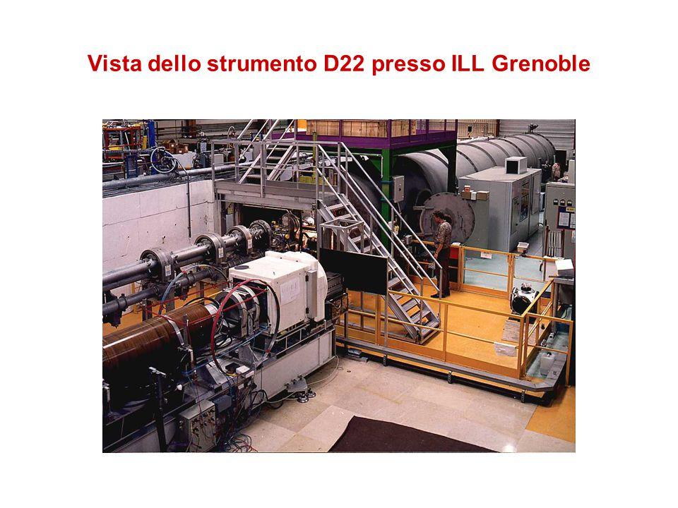 Vista dello strumento D22 presso ILL Grenoble