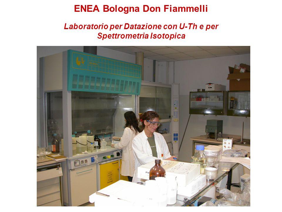 ENEA Bologna Don Fiammelli Laboratorio per Datazione con U-Th e per Spettrometria Isotopica
