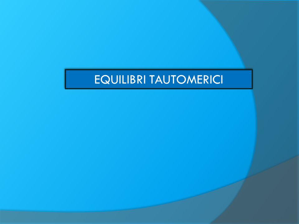 RAZIONALIZZAZIONE DEGLI EQUILIBRI TAUTOMERICI E possibile sulla base di considerazioni riguardanti: 1) i corrispondenti equilibri nei composti aliciclici 2) le energie di legame e l'aromaticità