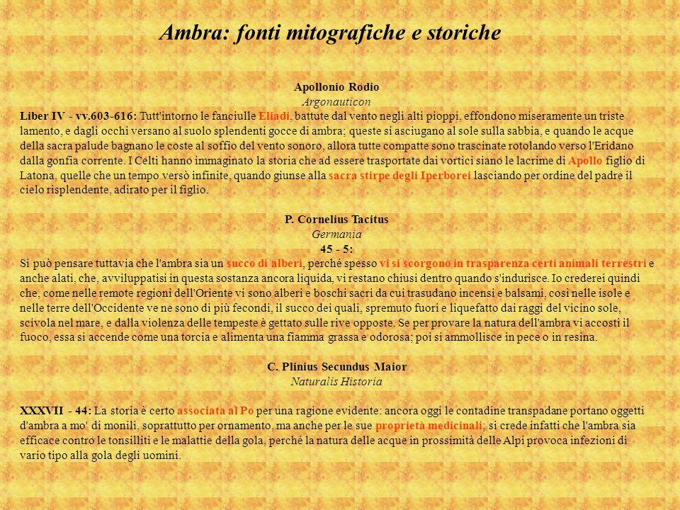 Apollonio Rodio Argonauticon Liber IV - vv.603-616: Tutt'intorno le fanciulle Eliadi, battute dal vento negli alti pioppi, effondono miseramente un tr