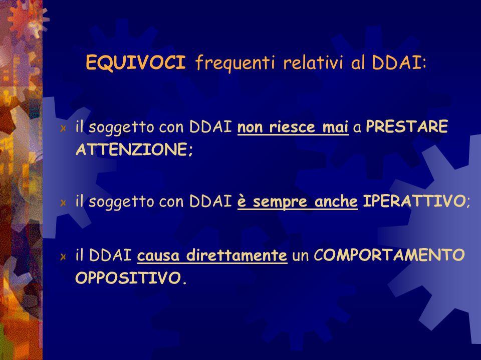 Tenere presenti i COMPORTAMENTI SINTOMATICI descritti dal DSM OSSERVARE attentamente il Comportamento dell'alunno nelle varie situazioni EVITARE di ca