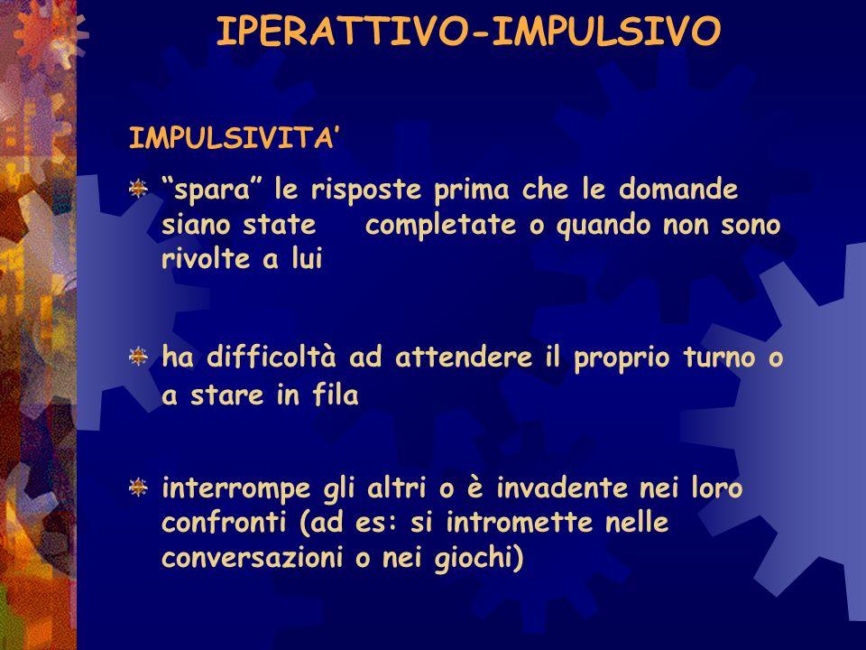 Definizione operativa comport.antagonisti: come si può dimostrare che non si sta …...