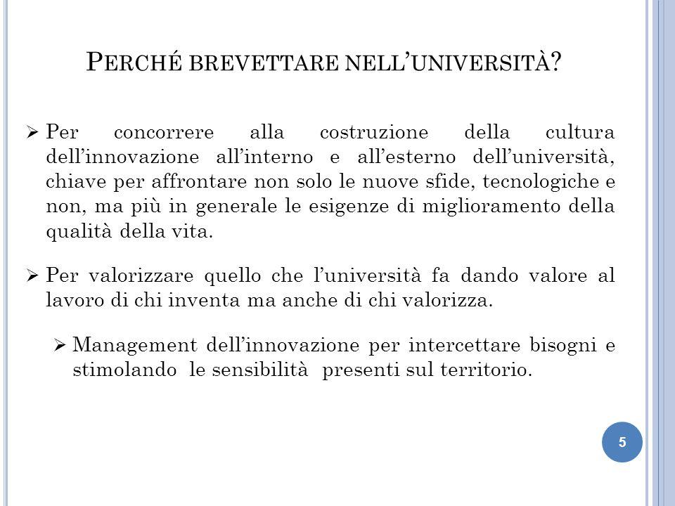 5  Per concorrere alla costruzione della cultura dell'innovazione all'interno e all'esterno dell'università, chiave per affrontare non solo le nuove