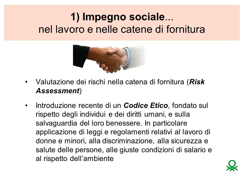 1) Impegno sociale...