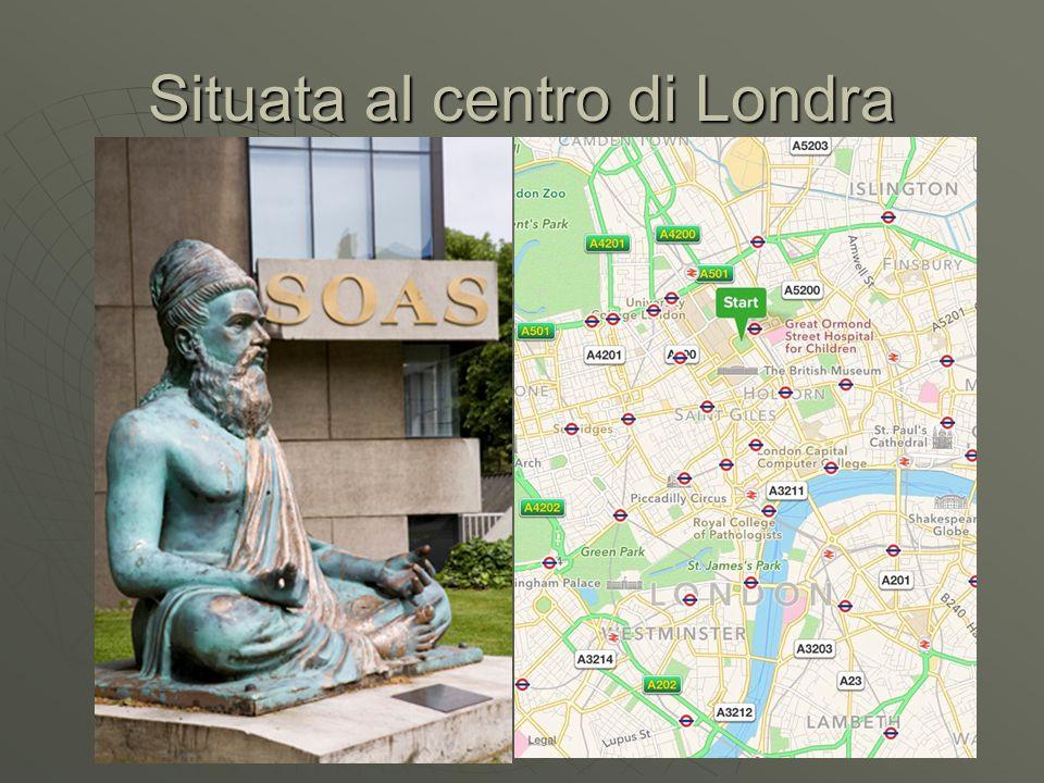 Situata al centro di Londra