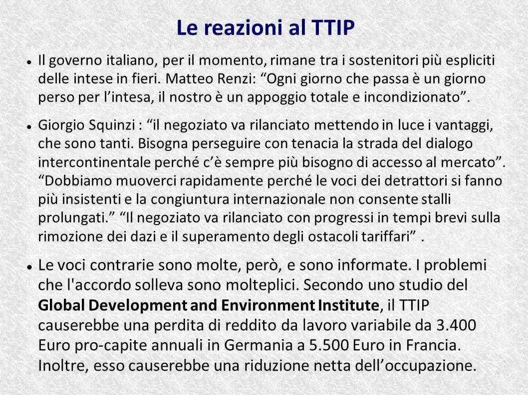 """Il governo italiano, per il momento, rimane tra i sostenitori più espliciti delle intese in fieri. Matteo Renzi: """"Ogni giorno che passa è un giorno pe"""
