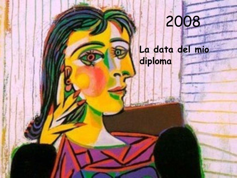 2008 La data del mio diploma