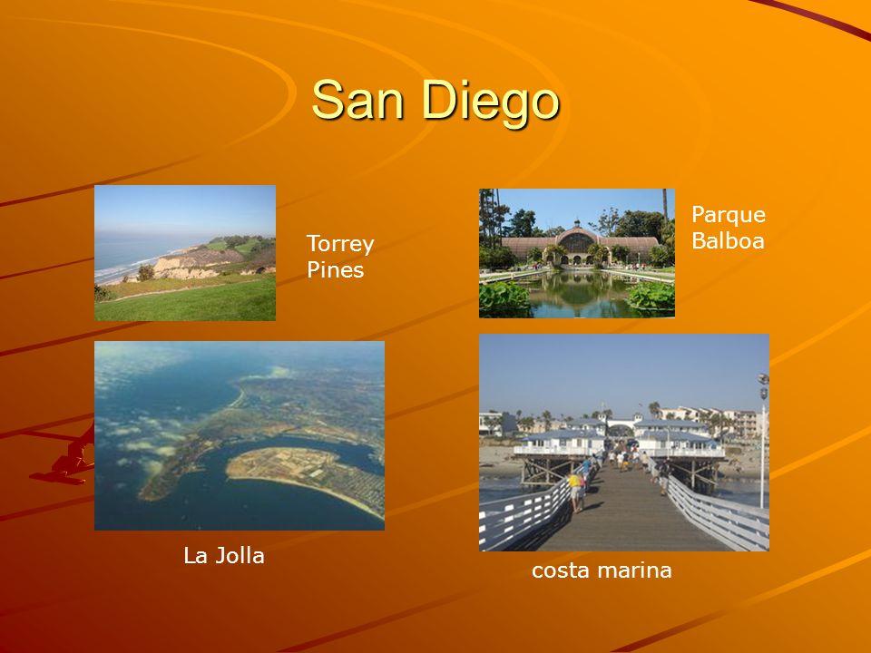 San Diego Parque Balboa Torrey Pines La Jolla costa marina