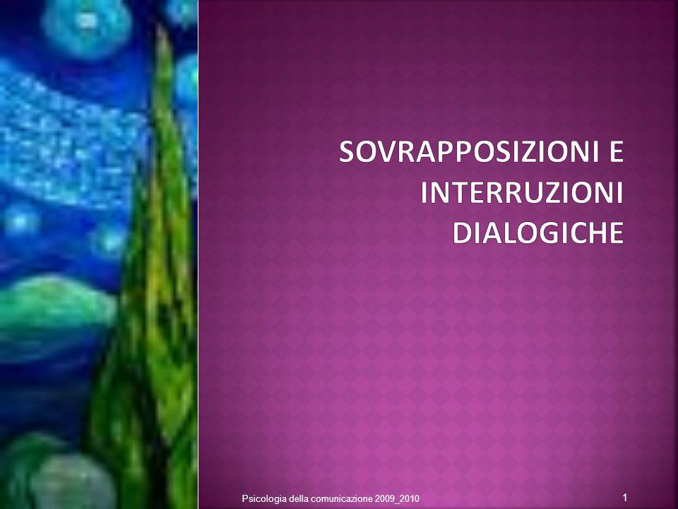 Psicologia della comunicazione 2009_2010 1